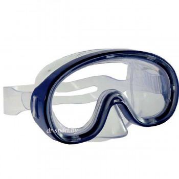 """Маска для плавания """"Crystal JR""""  200705, синий"""