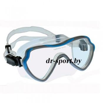 """Маска для плавания """"Apnea SR"""" 21010, синий"""
