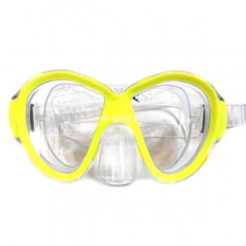 """Маска для плавания """"Jolly SR"""" 23070 желтый"""