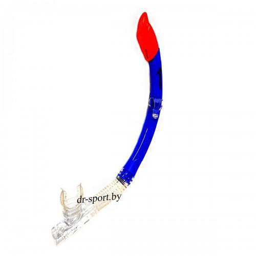 """Трубка для плавания """"Life  Sr"""" 42040 синий"""