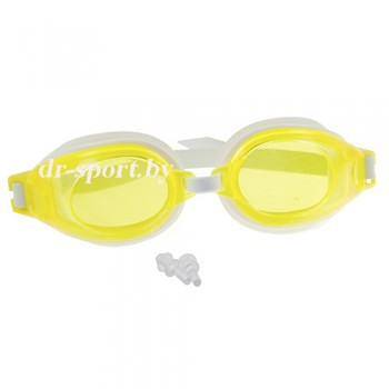 "Очки для плавания ""Full JR"" 51020, желтый"