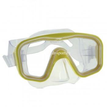"""Маска для плавания """"Karisma""""  200100 желтый"""