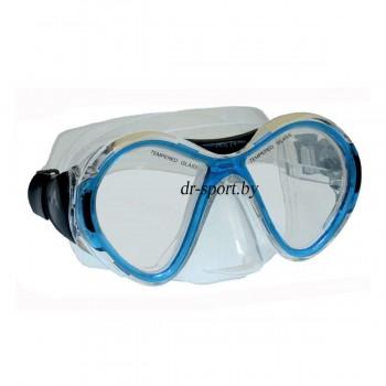 """Маска для плавания """"Flash SR"""" 21040, синий"""