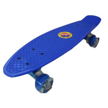 Скейтборд  со светящимися колесами 7104MY-123