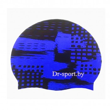 Шапочка для плавания 30401 Silicone синий