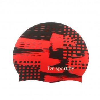 Шапочка для плавания 30401 Silicone красный