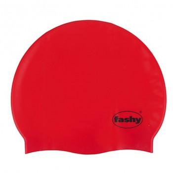 Шапочка для плавания 3040-40 Silicone красный