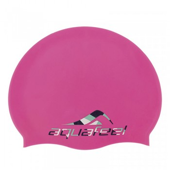 Шапочка для плавания 30504-43 розовый Silicone