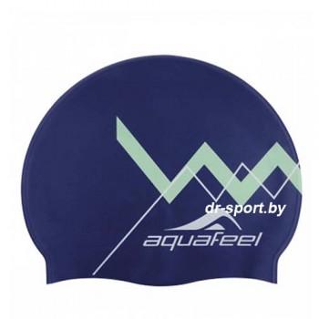 Шапочка для плавания 30505-50 синий Silicone