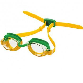 Очки для плавания T-Junior 4105 S зелено-желтый
