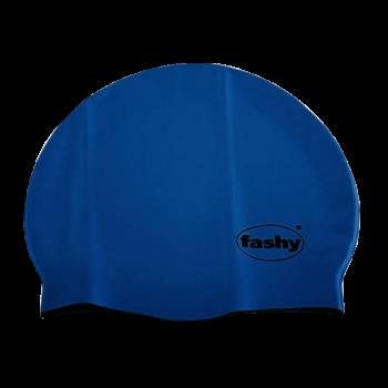 Шапочка для плавания 3040-54 Silicone темно-синий