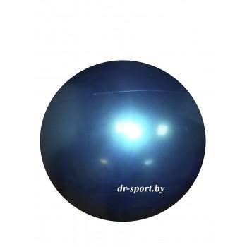 Мяч гимнастический Arpax Д-20 голубой металлик