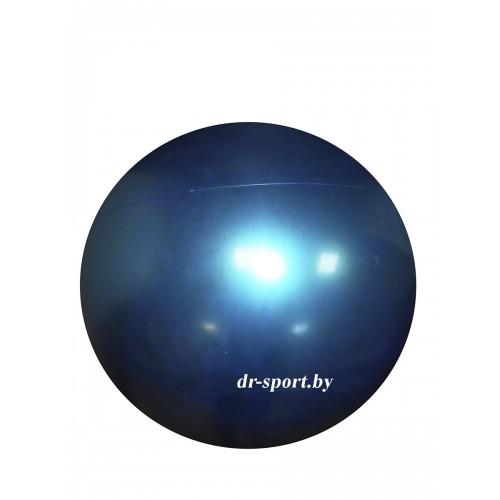 Мяч гимнастический Arpax Д-65 голубой металлик