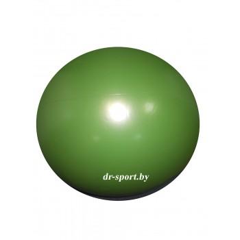 Мяч гимнастический Arpax Д-20 зеленый металлик