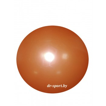 Мяч гимнастический Arpax Д-20 оранжевый металлик