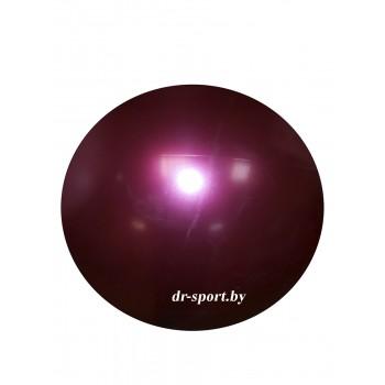 Мяч гимнастический Arpax Д-20 фиолетовый металлик