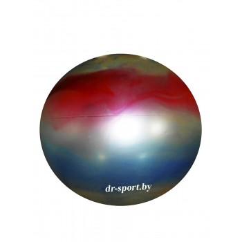 Мяч гимнастический Arpax Д-65 радужный металлик