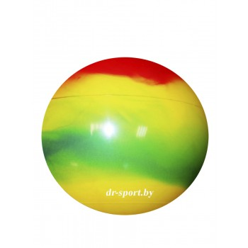 Мяч гимнастический Arpax Д-65 радужный