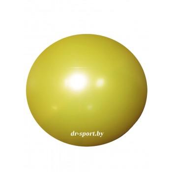 Мяч гимнастический Arpax Д-20 желтый металлик