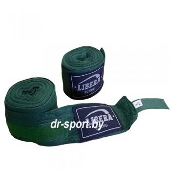 Бинт боксерский Libera 2.5 1025 зеленый