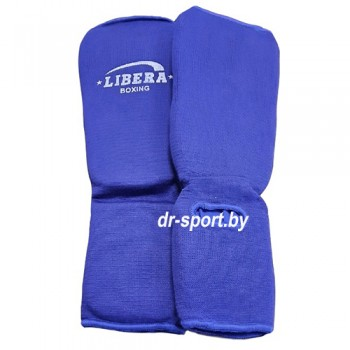 Защита Libera голени и голеностопа синий  770  M