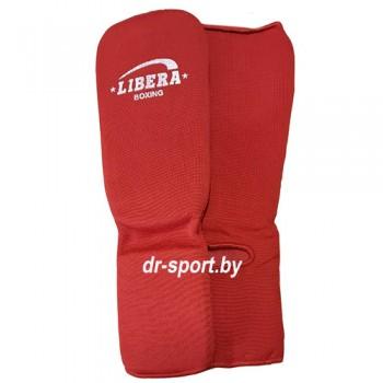 Защита Libera голени и голеностопа красная  770  L