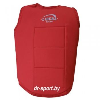 Защита  груди каратэ LIB-774 L красная