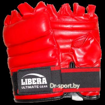 Накладки каратэ Libera LIB-729-L красные