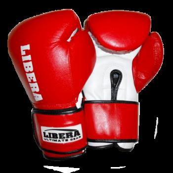 Перчатки боксерские American model LIB-120-8 унц красные