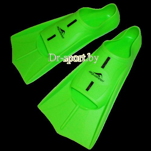 Ласты тренировочные Aquafeel 43-44  89083 61 зелено/черные