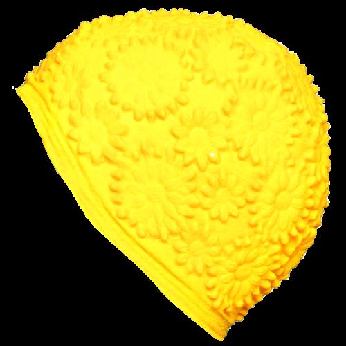 Шапочка для плавания 3102 желтый