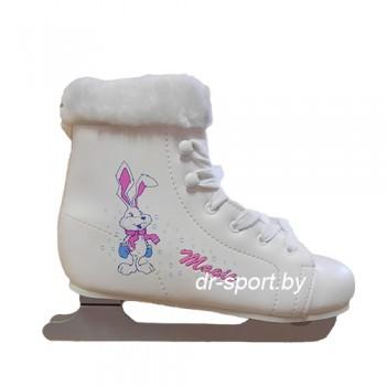 Коньки фигурные CK(Спортивная коллекция) MAGIC WHITE 29