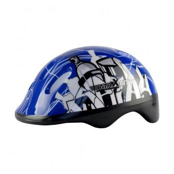Шлем для роликов MaxCity BABY-CITY BLUE