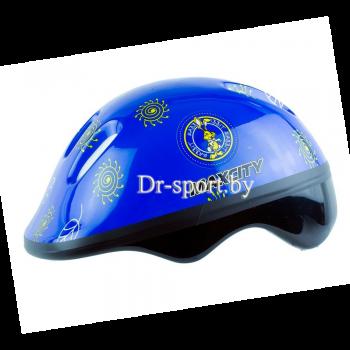 Шлем для роликов MaxCity Little Rabbit blue S