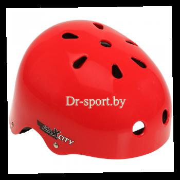 Шлем для роликов MaxCity Roller red S