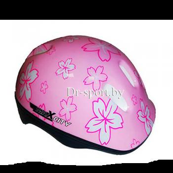 Шлем для роликов MaxCity арт. BABY-FLOWER S
