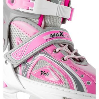 Коньки ледовые роликовые MaxCity  Volt ICE Combo girl 31-34