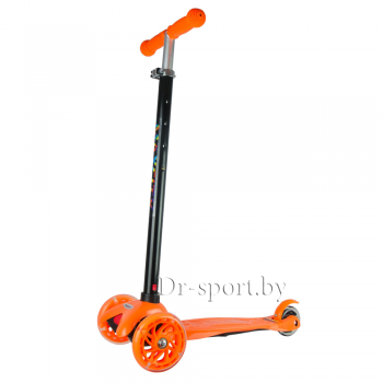 Самокат MaxCity Snoopy orange