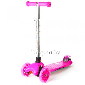 Самокат MaxCity Flex Pink