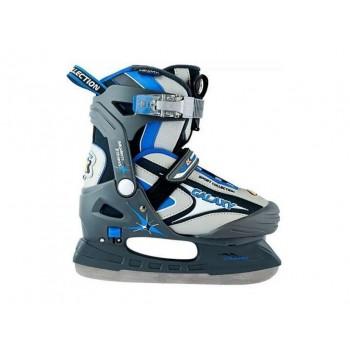 Коньки ледовые CK(Спортивная коллекция) Galaxy boy blue 28-31