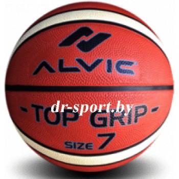 Мяч баскетбольный Alvic Top Grip 2-х цветный №7