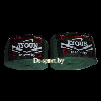 Бинт боксерский Ayoun 4,0 1040 зеленый