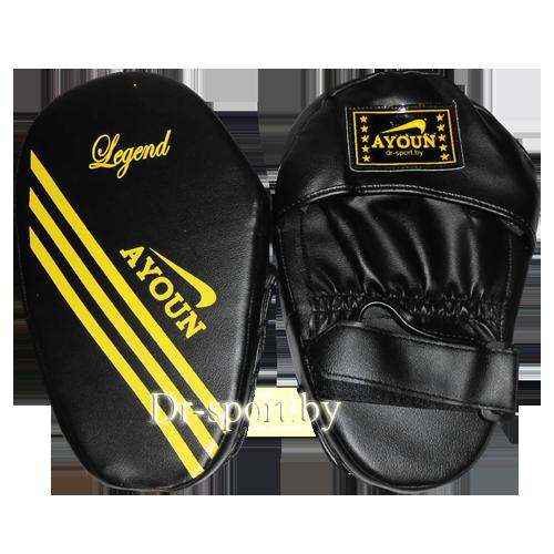 Лапа боксерская прямая Ayoun 802 черная
