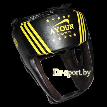 Шлем боксерский Ayoun Profi  845 L черный