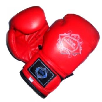 Перчатки для кик боксинга  Ayoun 848 - 8 унц.(красный)