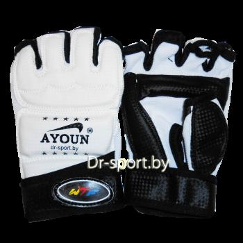 Перчатки таэквандо Ayoun 738  L белые