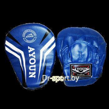 Лапа боксерская Ayoun 801 синяя