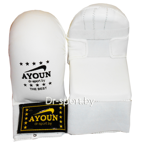 Уценка Накладки каратэ Ayoun 840 M белые