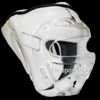 Шлем защитный карате с поликарбонатной маской Ayoun 955 L