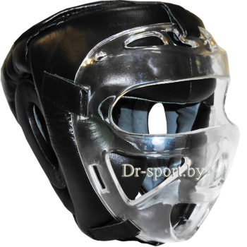Шлем защитный карате с поликарбонатной маской Ayoun 955 XL